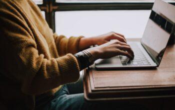 pisanie na komputerze